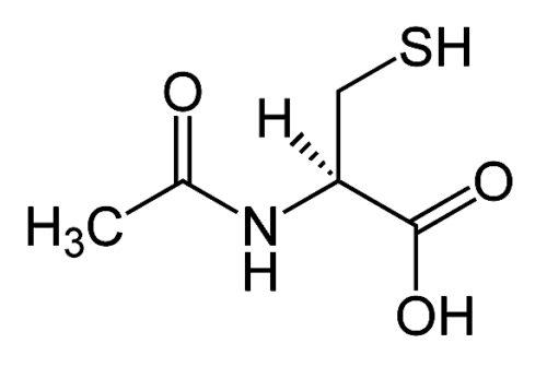 Aminosyran N-acetyl-cysteine, NAC