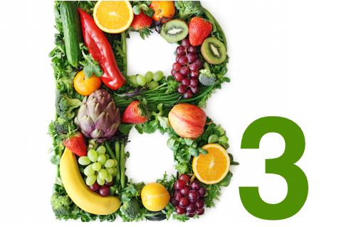 Kosttillskott av vitamin b3.