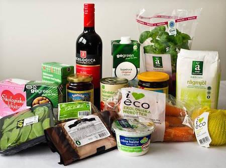 Ekologiska livsmedel - ekomat
