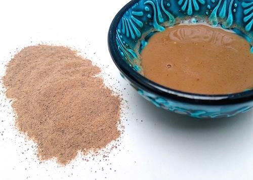 Rhassoullera för hud och hår