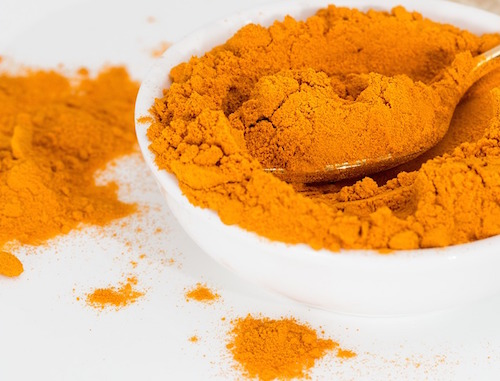 Gurkmeja innehåller curcumin som är antiinflammatoriskt
