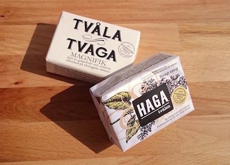 Tval och tvaga - naturliga tvålar från Haga
