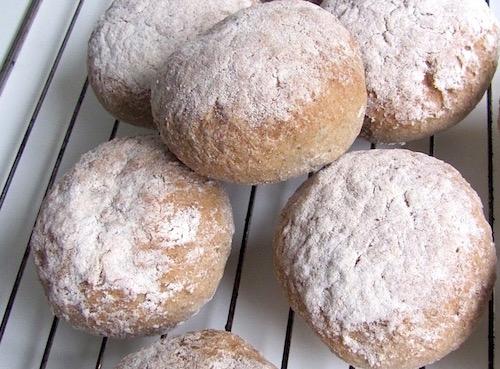 Recept på bovetefrallor - glutenfritt bröd
