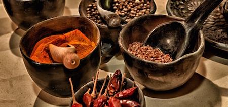 Starka kryddor bra för hälsan