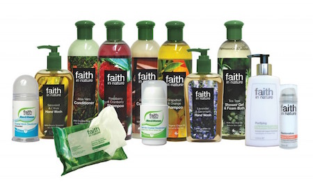 Faith in naure produkter
