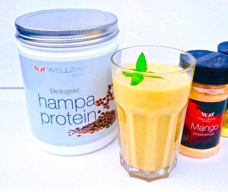 Mangosmoothie med hampaprotein