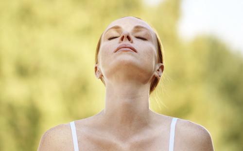 medveten andning - att lära sig andas rätt
