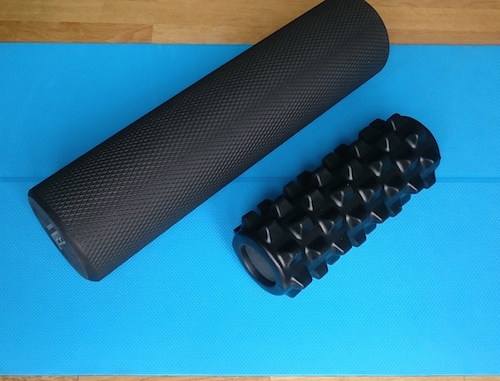 Fördelar med foam roller - massera bindväven med en foam roller