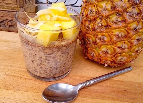 Overnight oats recept