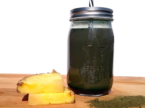 Recept chlorella smoothie