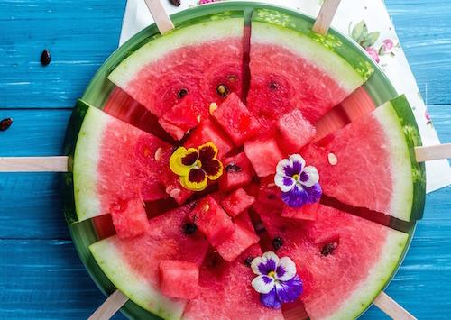 Vad innehåller vattenmelon - vattenmelon nyttigt