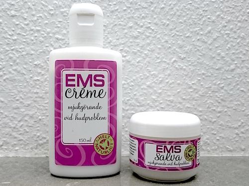 EMS-salva och EMS-creme