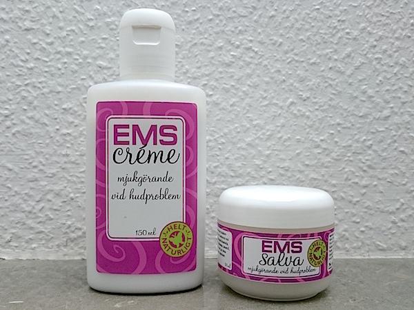 EMS-salva och EMS-kräm