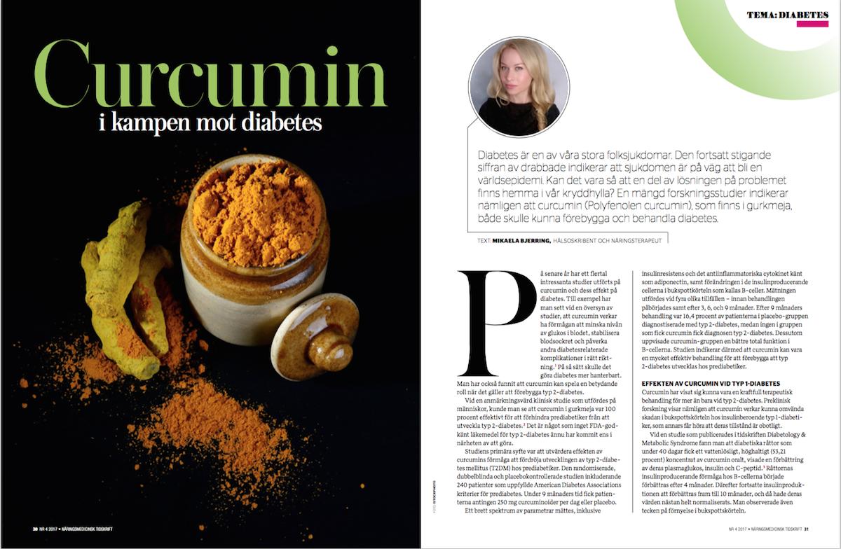 Curcumin i kampen mot diabetes