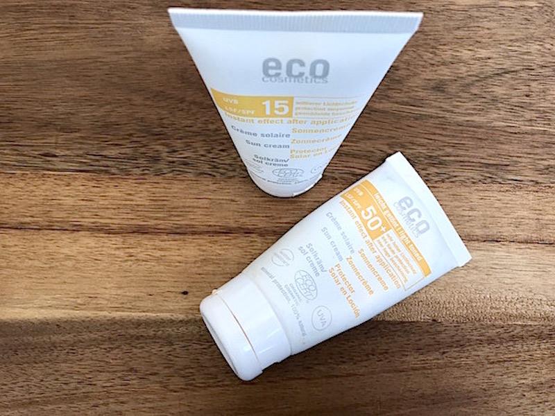 Eco Cosmetics solskyddsprodukter