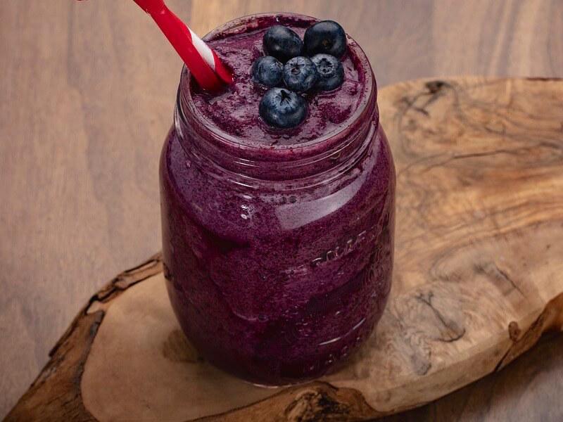 Recept på energigivande blåbärssmoothie