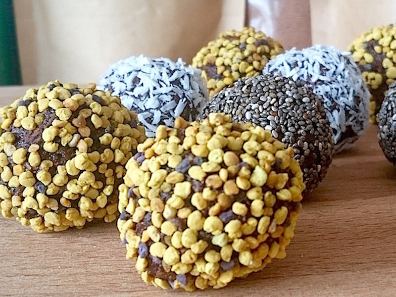 Nyttiga Rawfood-bollar