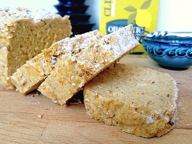 Recept på glutenfritt morotsbröd