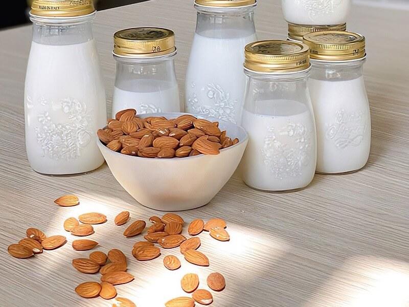 Så enkelt gör du din egen mandelmjölk och nötmjölk