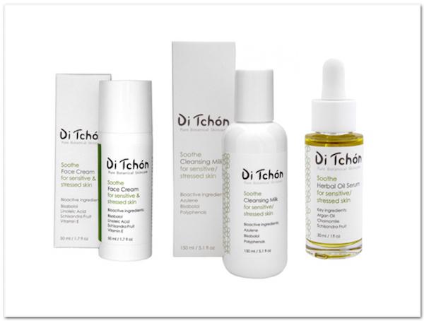 Di Tchon ekologisk hudvård för stressad hud