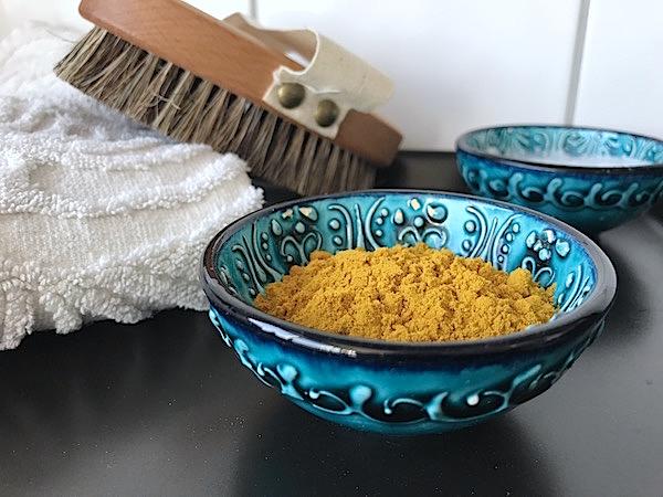 Traditionella skönhetstips med gurkmeja