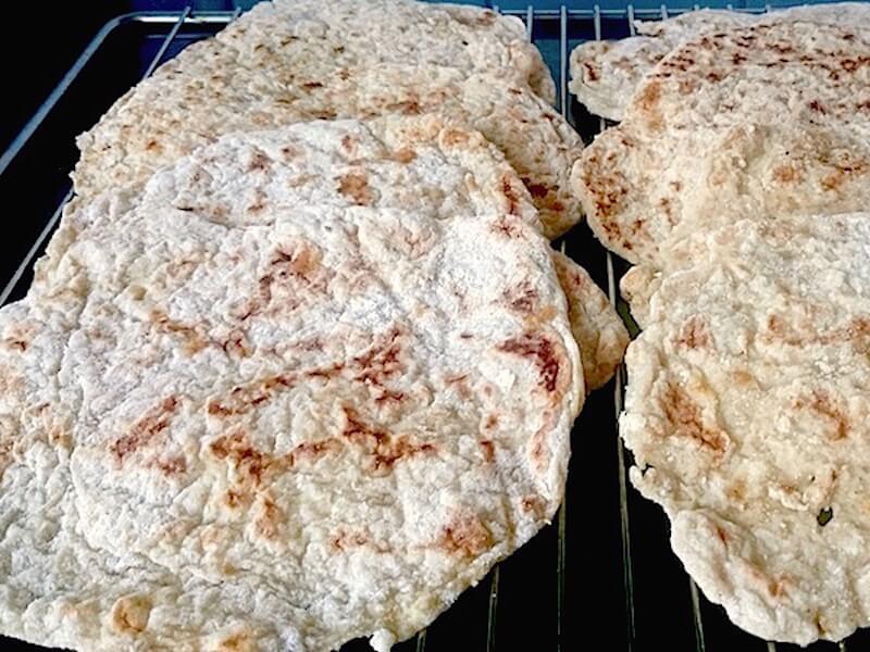 Recept på glutenfritt tunnbröd