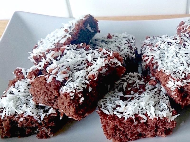 Recept på glutenfria chokladrutor