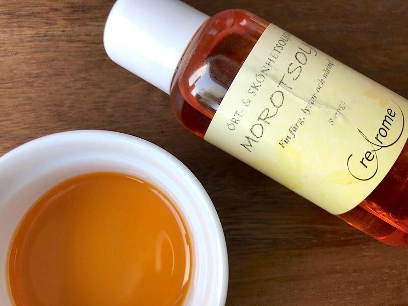 Liva upp din hud med morotsolja