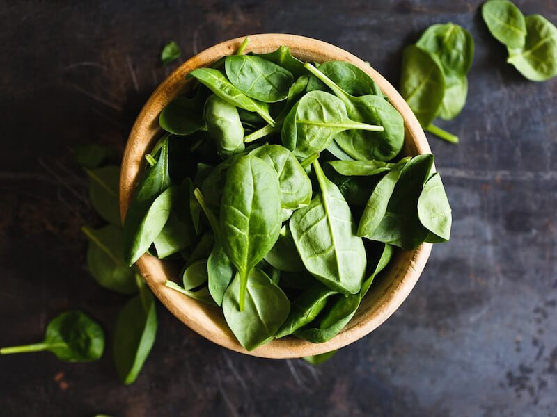 5 hälsofördelar med att äta spenat