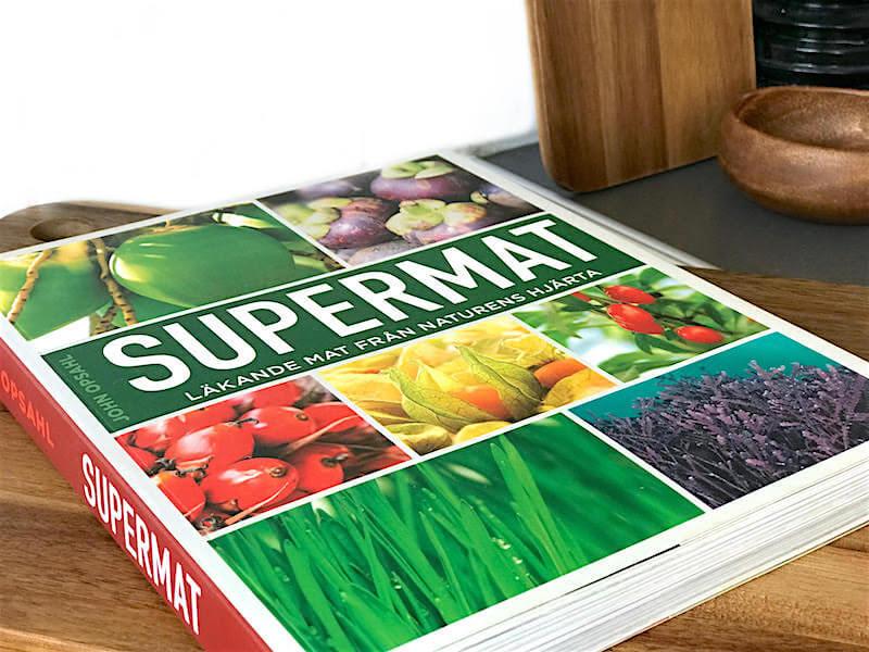 """Boktips! """"Supermat – läkande mat från naturens hjärta"""""""