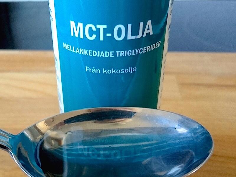 Hälsosamma fördelar med MCT-olja