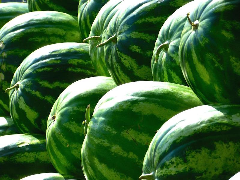 Knepen för att hitta den perfekta vattenmelonen