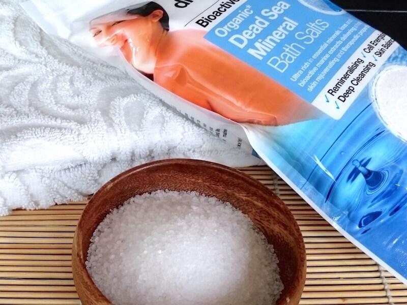 Terapeutiska hälsofördelar med saltbad