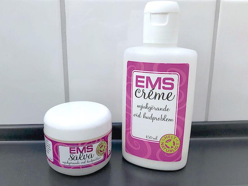 Universalprodukterna EMS salva och EMS creme