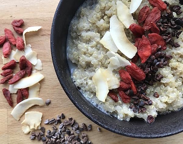 Quinoagröt recept