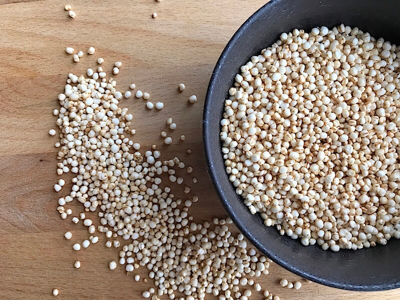 Så poppar du quinoa till quinoapuffar