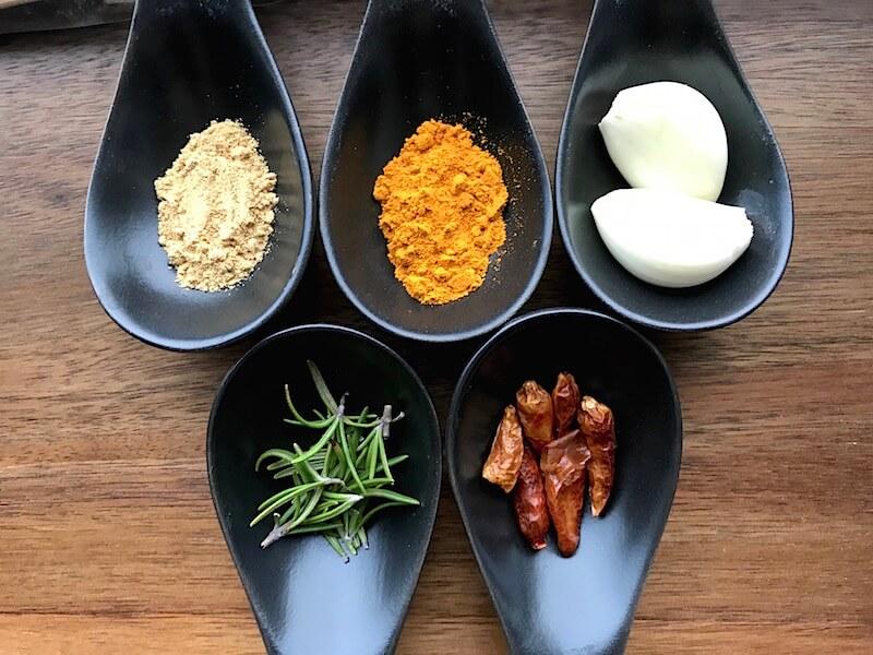 5 kryddor med antiinflammatoriska egenskaper