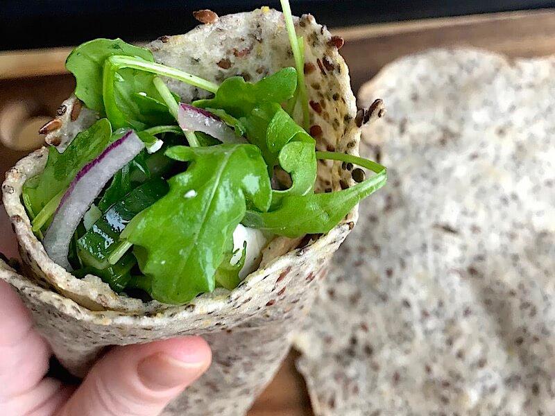 Glutenfria wraps recept