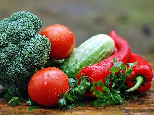 Kalium finns rikligt i grönsaker