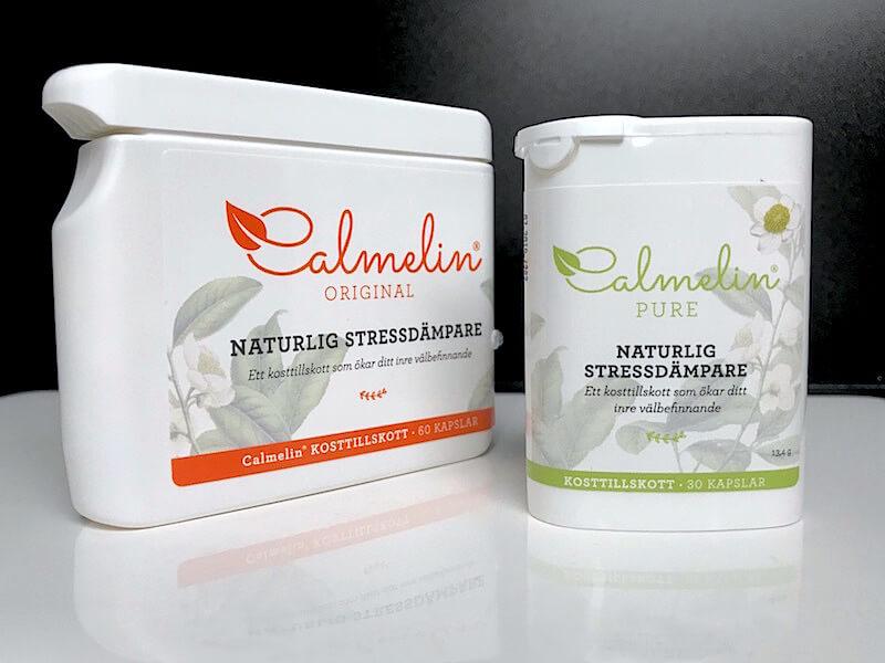 Calmelin - för naturlig stresshantering