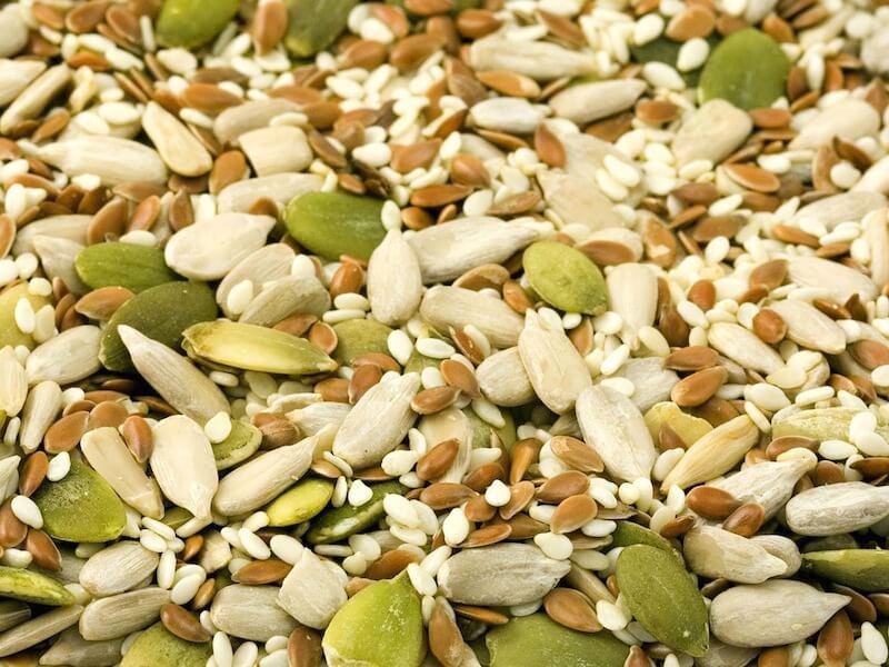 Antinutrienter i nötter och fröer