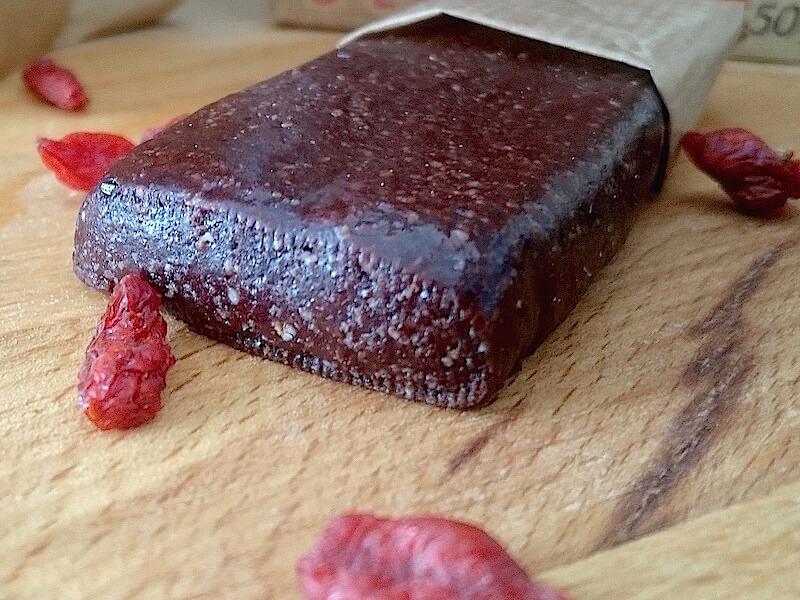 Questbar med choklad och goji recept