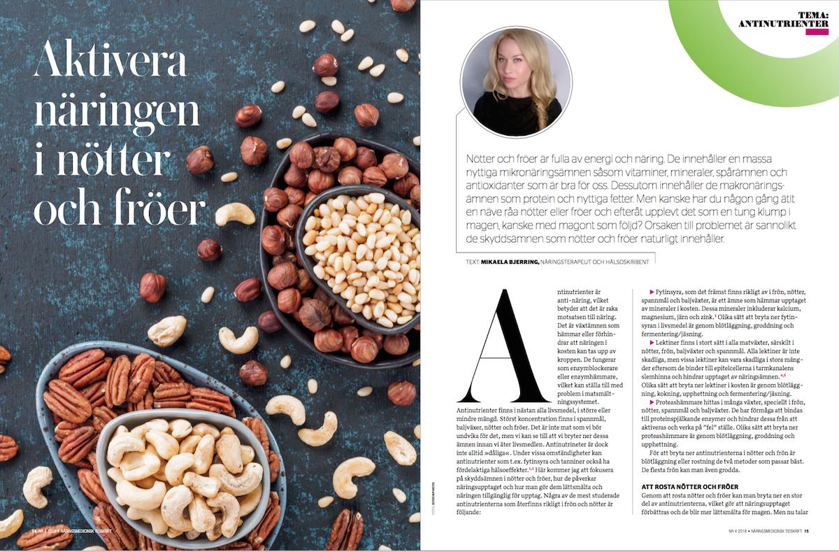 Aktivera näringen i nötter och fröer 1
