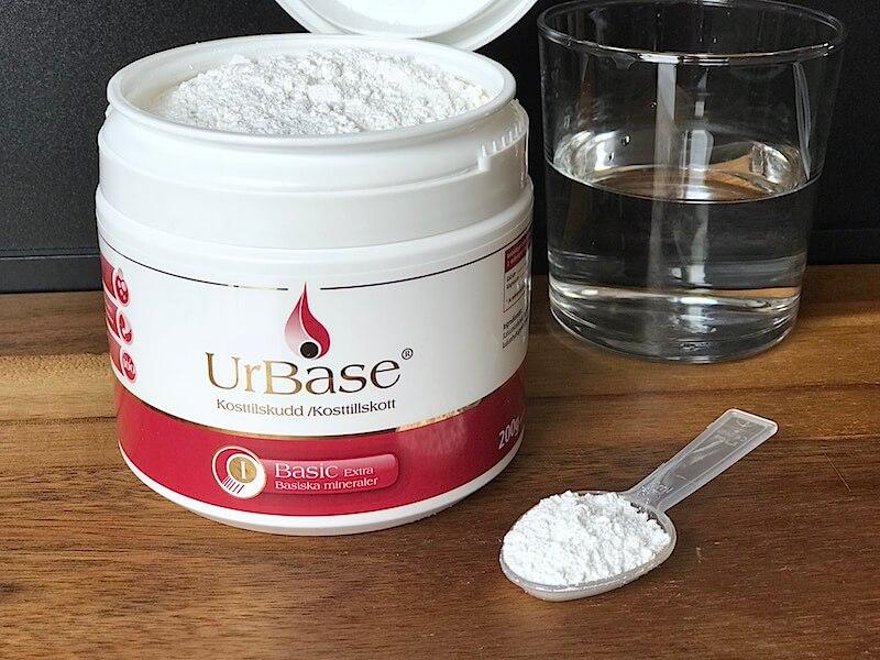 Urbase - Ett tillskott av basiska mineraler