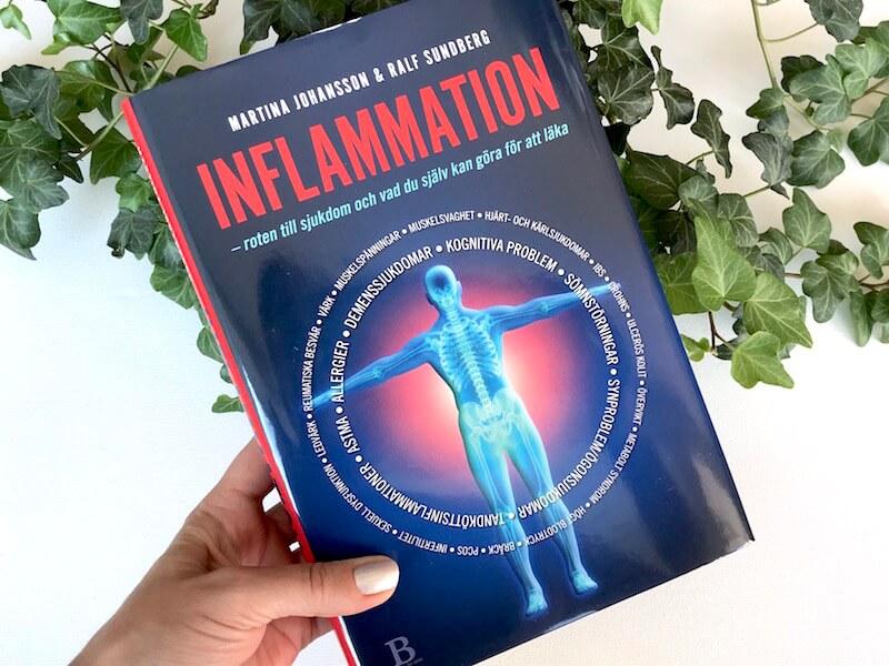 Boken Inflammation - roten till sjukdom och vad du själv kan göra för att läka