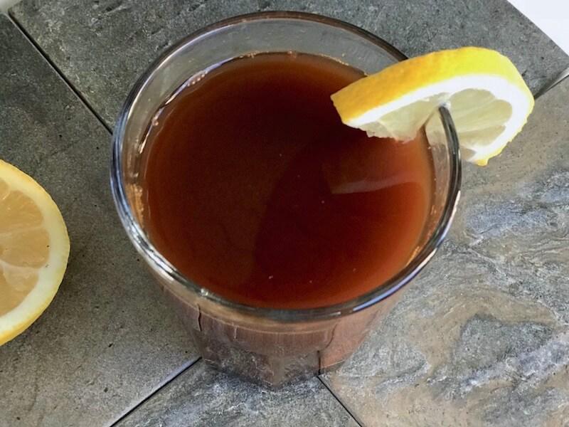 Chaga med citron och ingefära