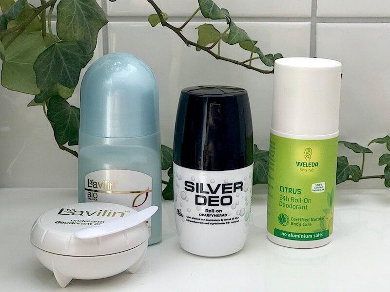 Naturliga deodoranter som verkligen fungerar