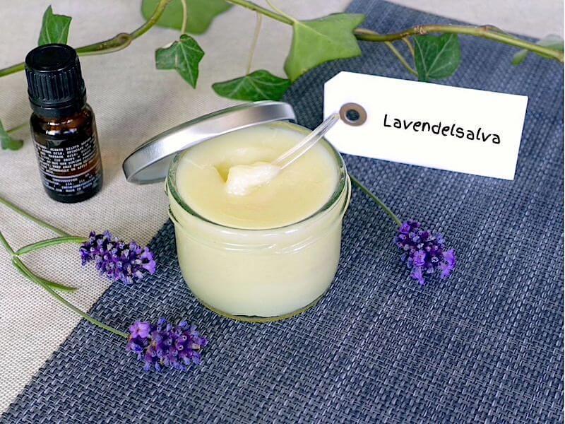 Lavendelsalva recept