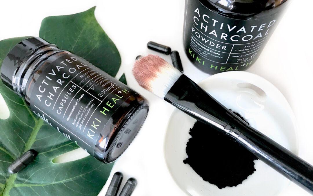 Aktivt kol för hår och hudvård