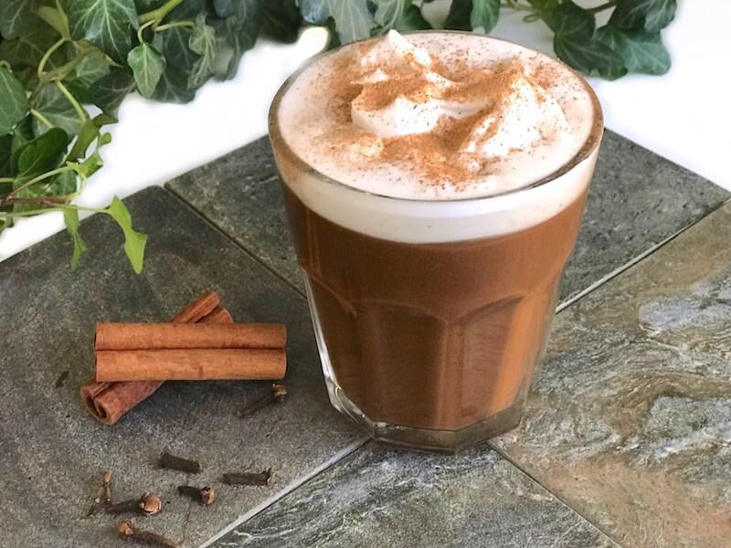 Kryddig varm choklad med chaga